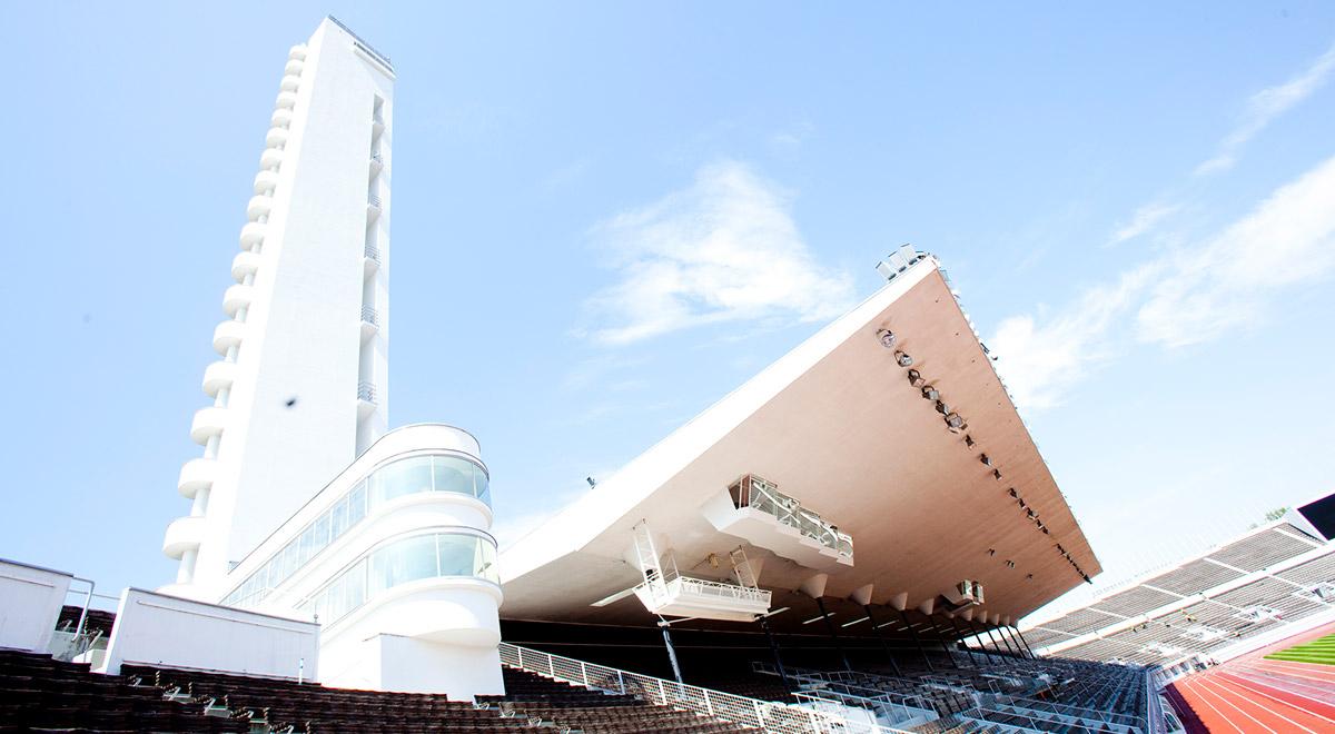 Helsinkiguide -Karin Niiniharju-Järvinen - Olympiastadion